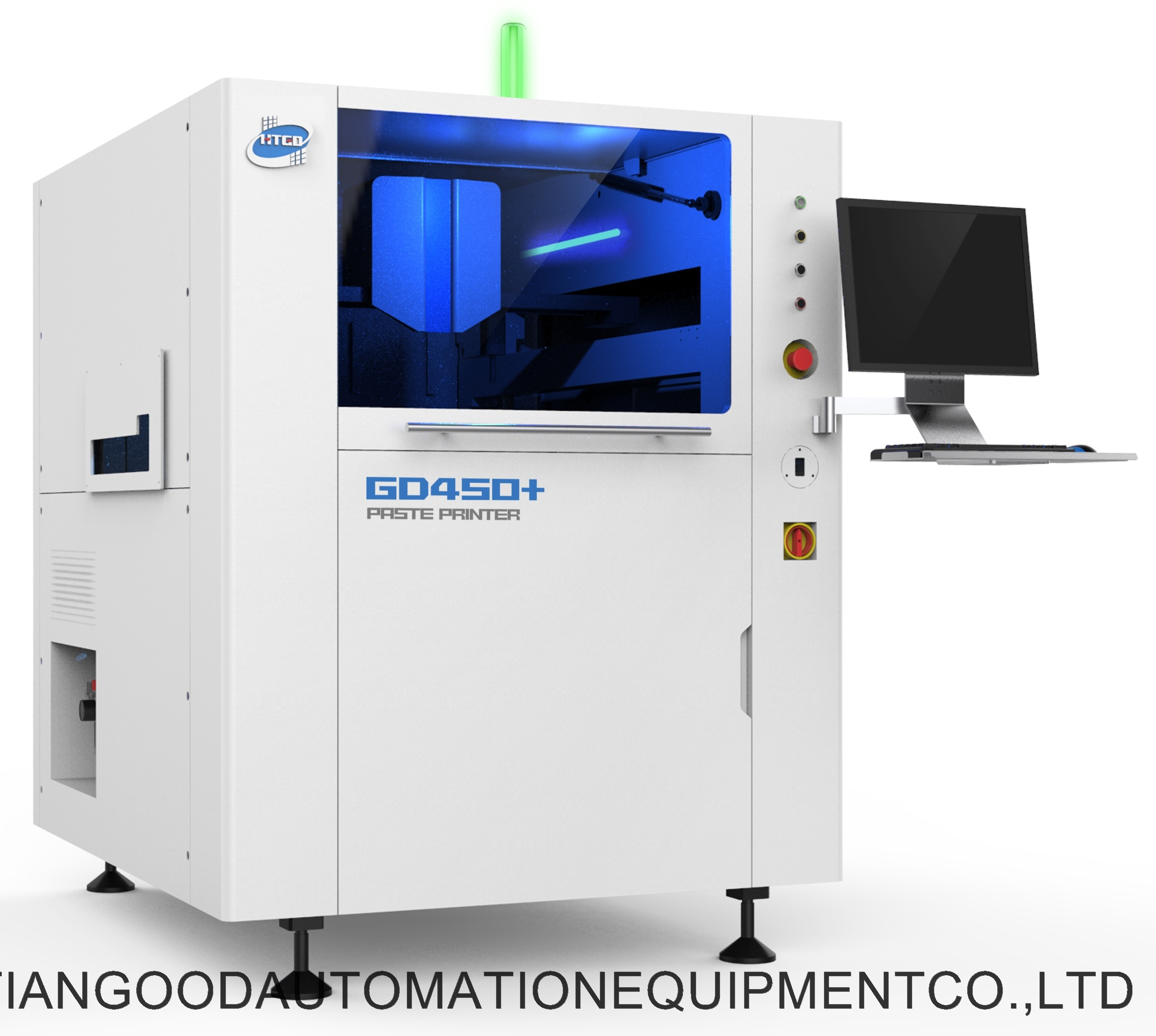 Solder paste printing press