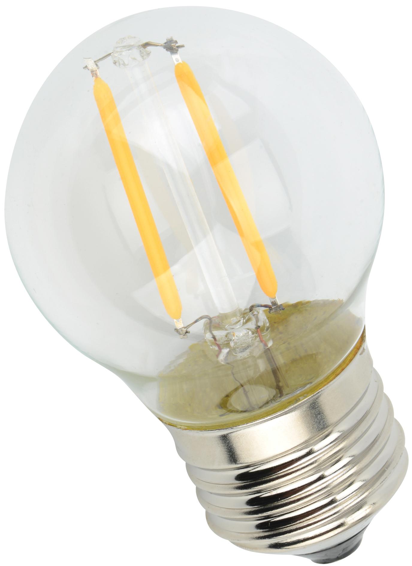 LED Filament Light G45F-2W