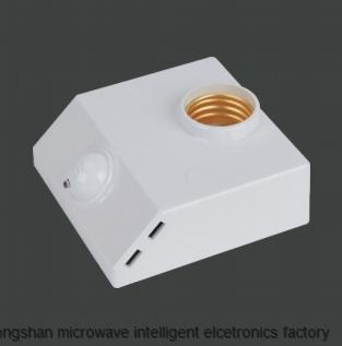 Microwave radar induction lamp holder