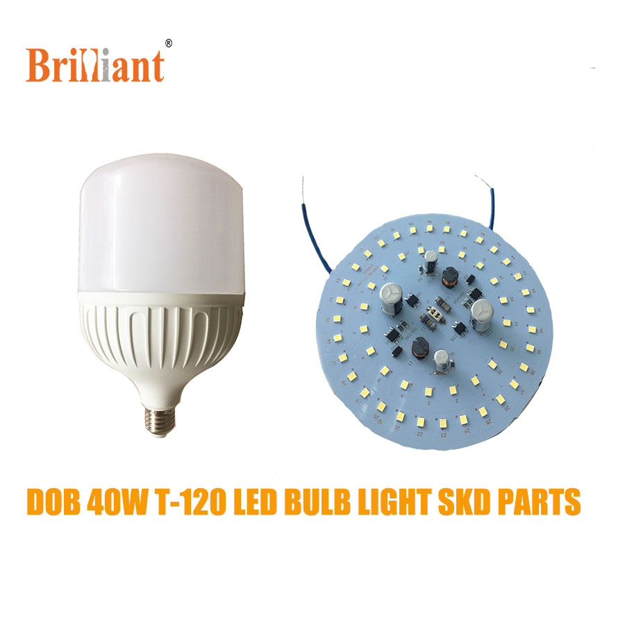 High lumen 120LM W 40w bulb skd 175-265v for T-Bulb light parts FOB Reference Price