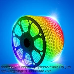 High light flexible led strip light smd 2835 IP65 waterproof led strips CE Rose
