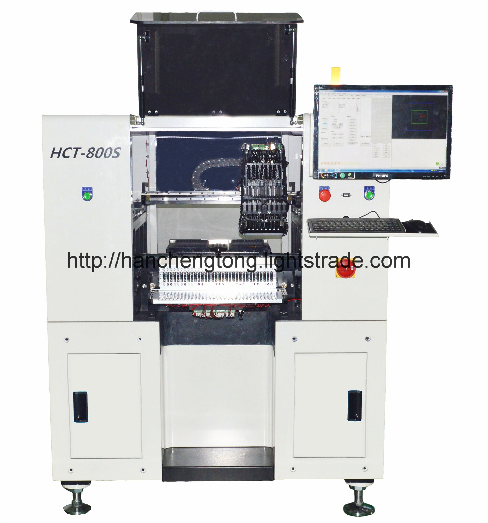 HCT-800S Multi-Functional SMT Pick and Place Machine