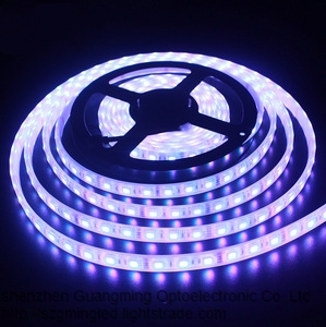 Programmable 5v ws2812b rgb digital led strip light 5050 3535 dream color 60leds