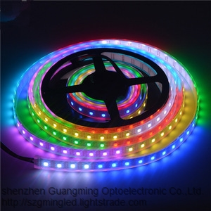 Factory Price 5M Length Waterproof Dc12V Smd 5050 Outdoor Flexible Rgb Led Strip Light