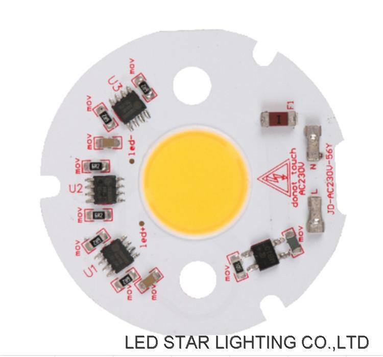 HIgh lumen linear ic driver 3W-36W COB DOB LED Module