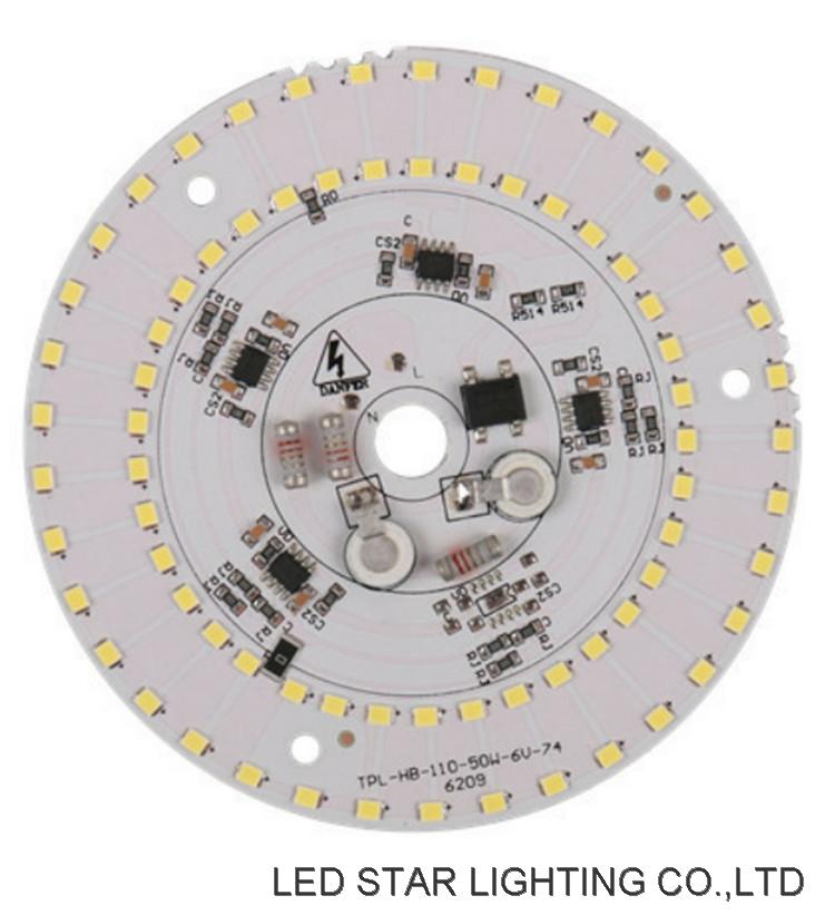 Linear IC Driver 50W LED Highbay Light AC DOB LED Module