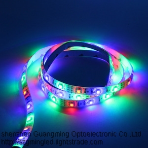 Rgb 12v Waterproof Ip65 5050 Smd Flexible Color Changing Outdoor Led Strip Lights