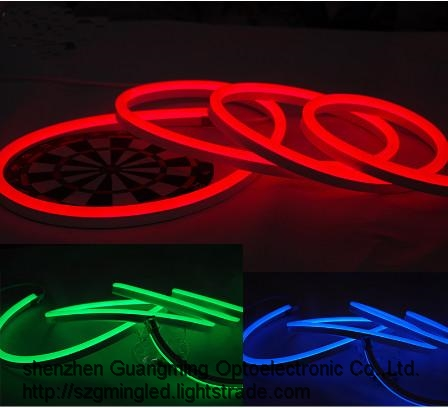 Waterproof Double Sided Flexible RGB neon led strip light