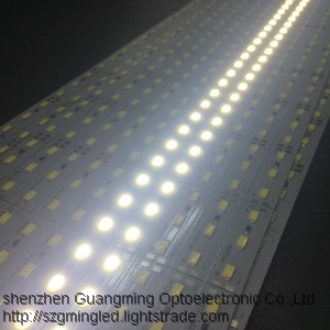 DC 12V led bar light strip hard article smd 5050 rigid lamp ruban waterproof 60leds lamp with