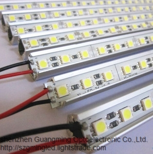 Full color High Quality 12V led hard strip light with SMD 5050 RGB led hard article lamp