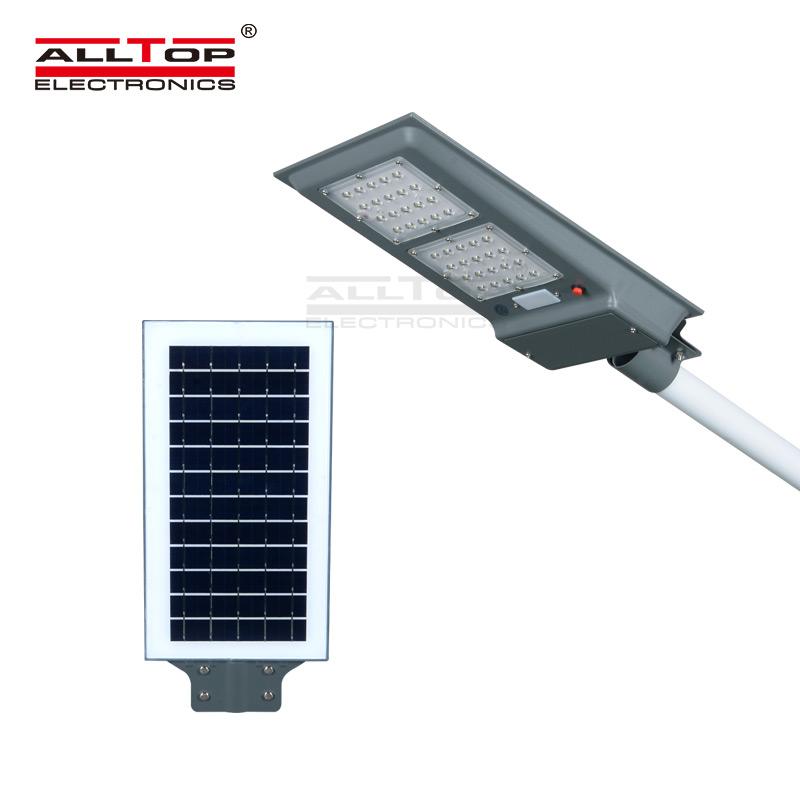 ALLTOP Outdoor lighting waterproof all in one led solar street light