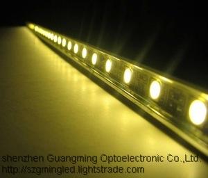 Music led strip light 5050 RGB color 14.4W waterproof boat led light