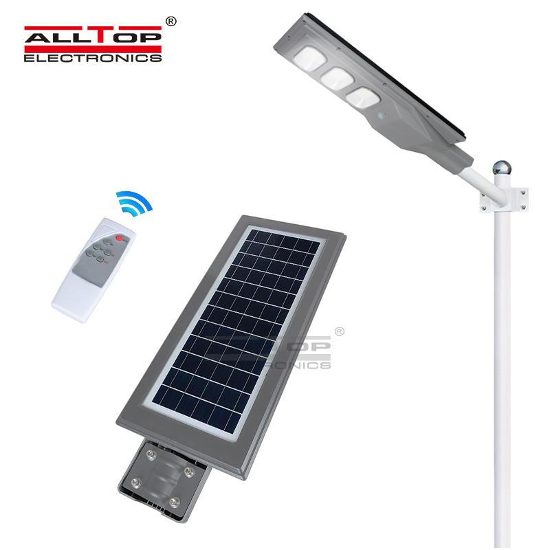 ALLTOP Energy saving outdoor solar ABS body all in one solar led street light