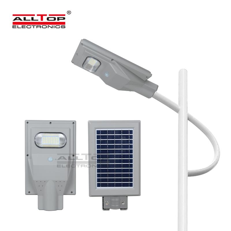 ALLTOP Outdoor waterproof IP65 smd 30w 60w 90w 120w 150w all in one solar led street light price