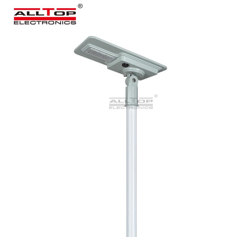 ALLTOP High efficiency outdoor lighting waterproof integrated all in one led solar street light