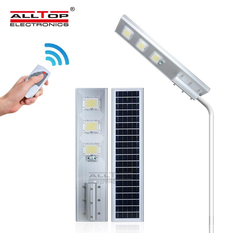 ALLTOP Ultra-high brightness energy saving all in one solar street light