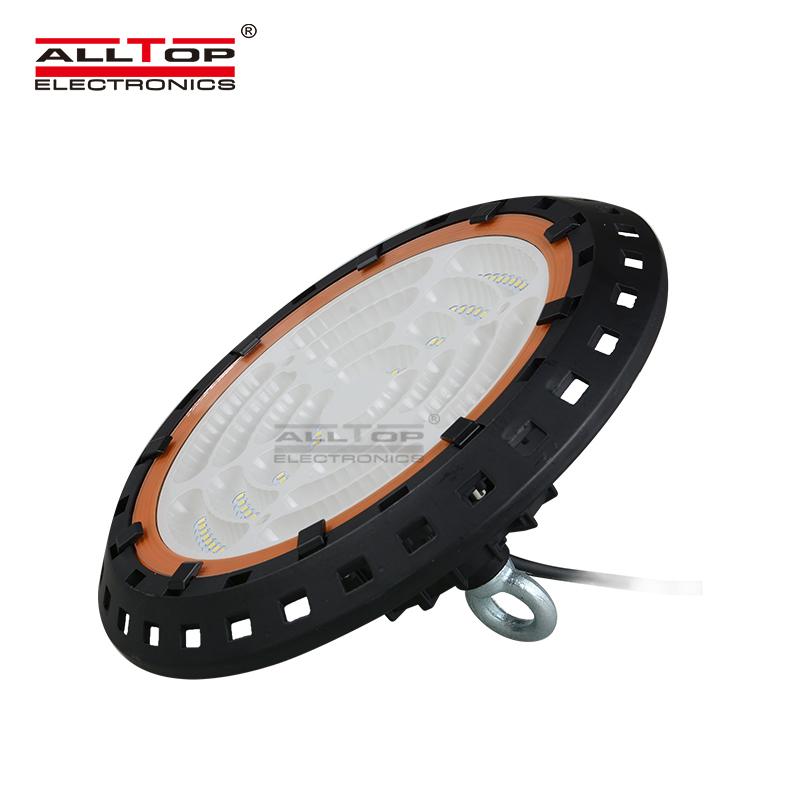 ALLTOP high lumen industrial warehouse IP65 100 150 200 watt ufo led high bay light