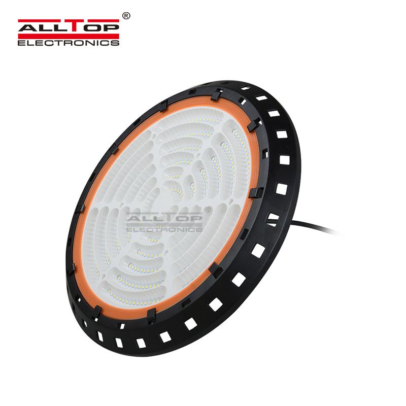 ALLTOP 2019 newest design aluminum indoor industrial 100 150 180 200 watt LED high bay Light