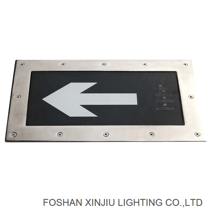 professional emergency led on the ground with IP20 for emergency exit sign