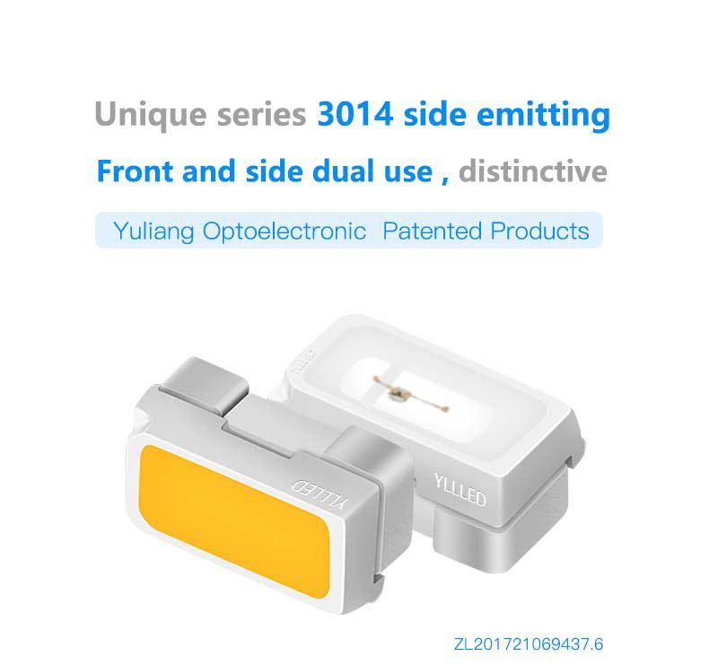 3014 Side Emitting LEDs (monochromatic light) SMDled3014Side