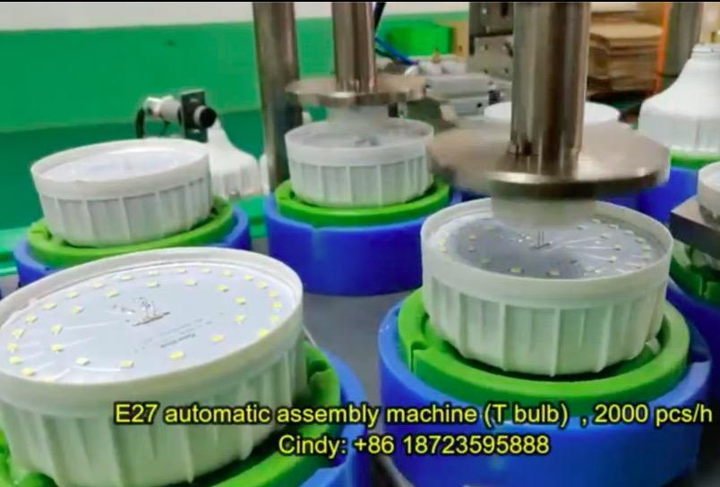 T Bulb assembly line