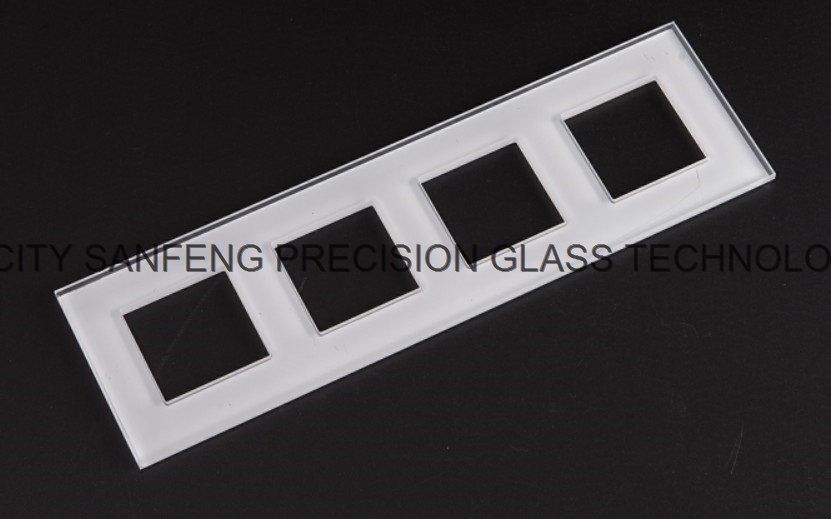 Switch frame glass