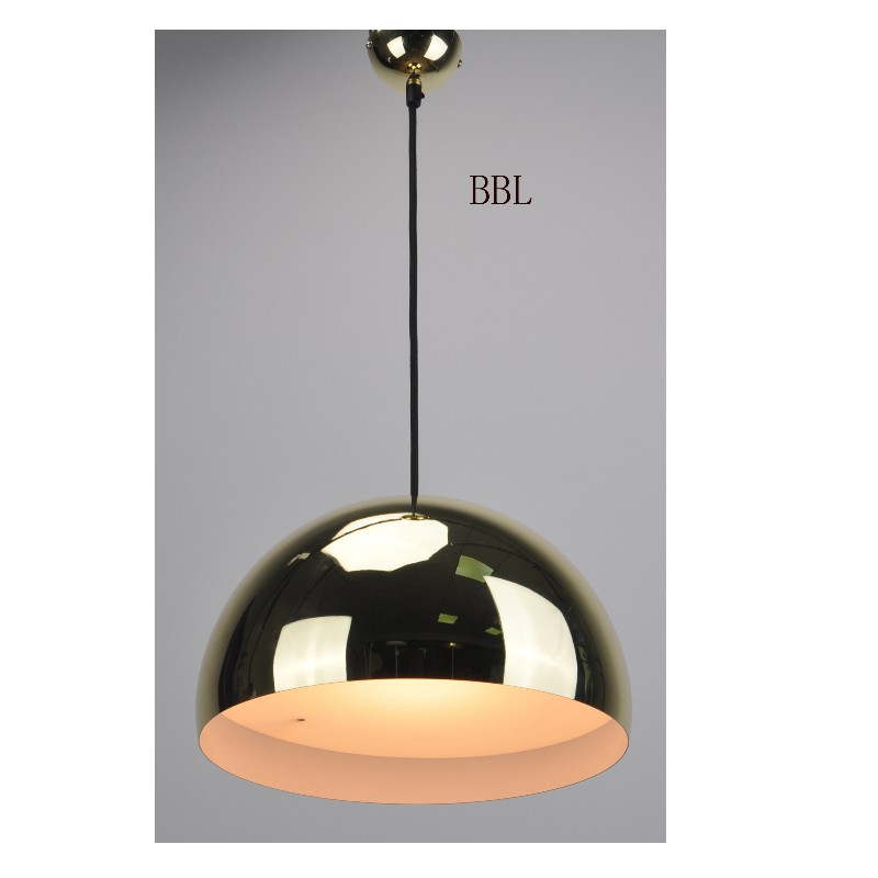 High voltage LED pendant lamp with DIM TO WARM