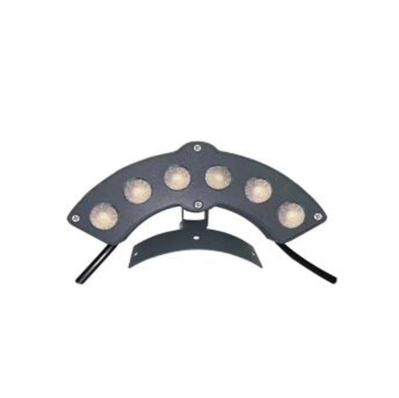 LED corrugated lamp