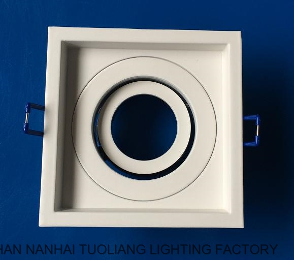 White shell LED COB Downlights Dimmable 7W10W15W recessed ceiling LED Down Lights Spot Lights Shell