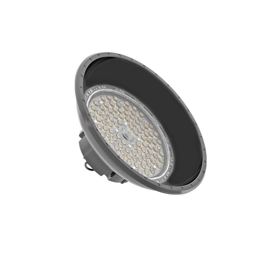 100w 150w 200w high bay die-casting indoor ADC12 AL floodlight low glare UFO Osram 5years warranty