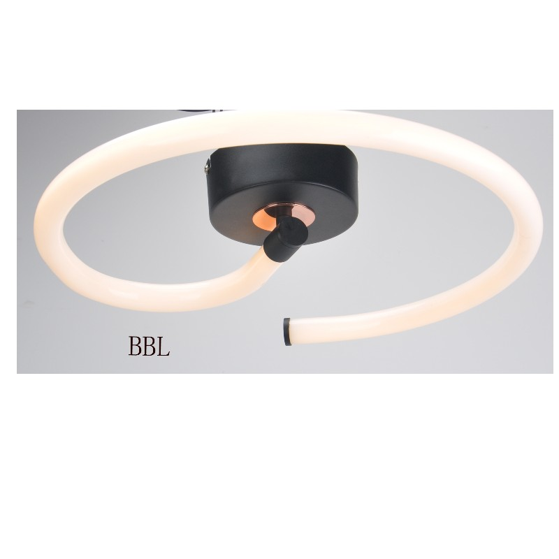LED ceiling lamp with acrylic tube