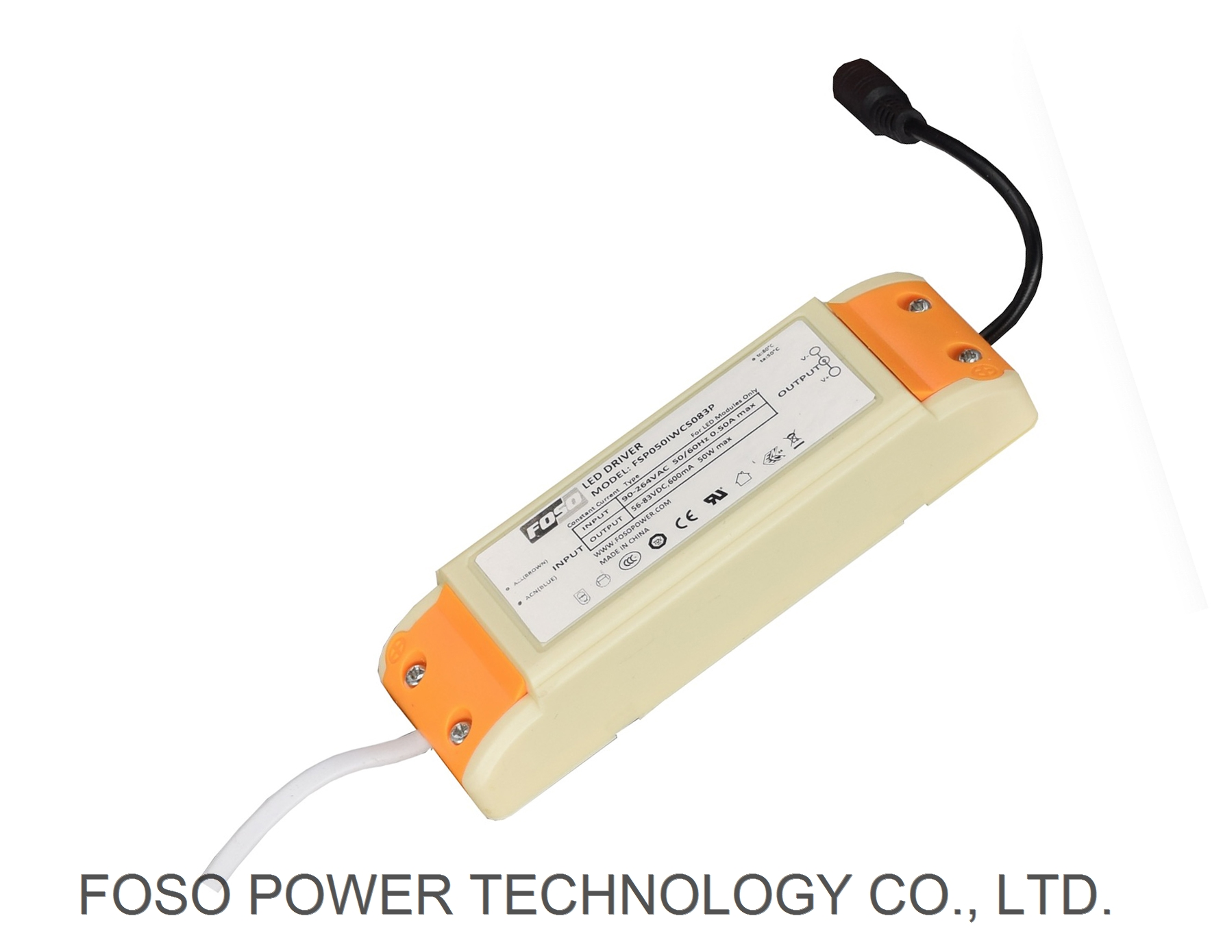 50W INDOOR LED DRIVER