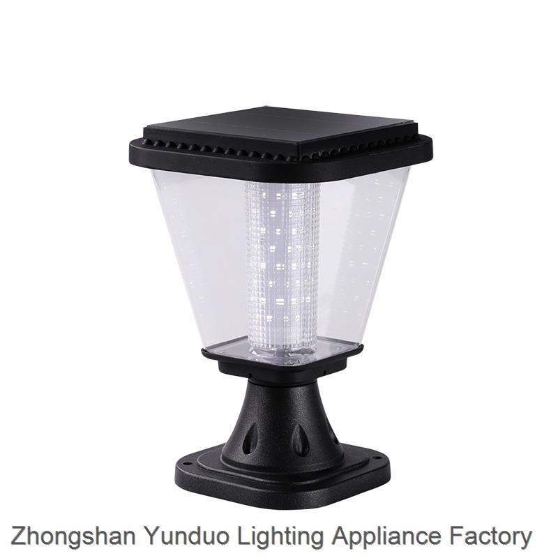 All In One 3W Solar Garden Light LED Lantern Light Lighting For Pillar Gate