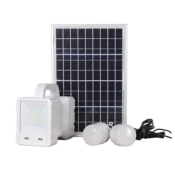 30w Solar Home Led Lighting System Kit Mini Small Complete Portable Power 30w bilb light flashlight
