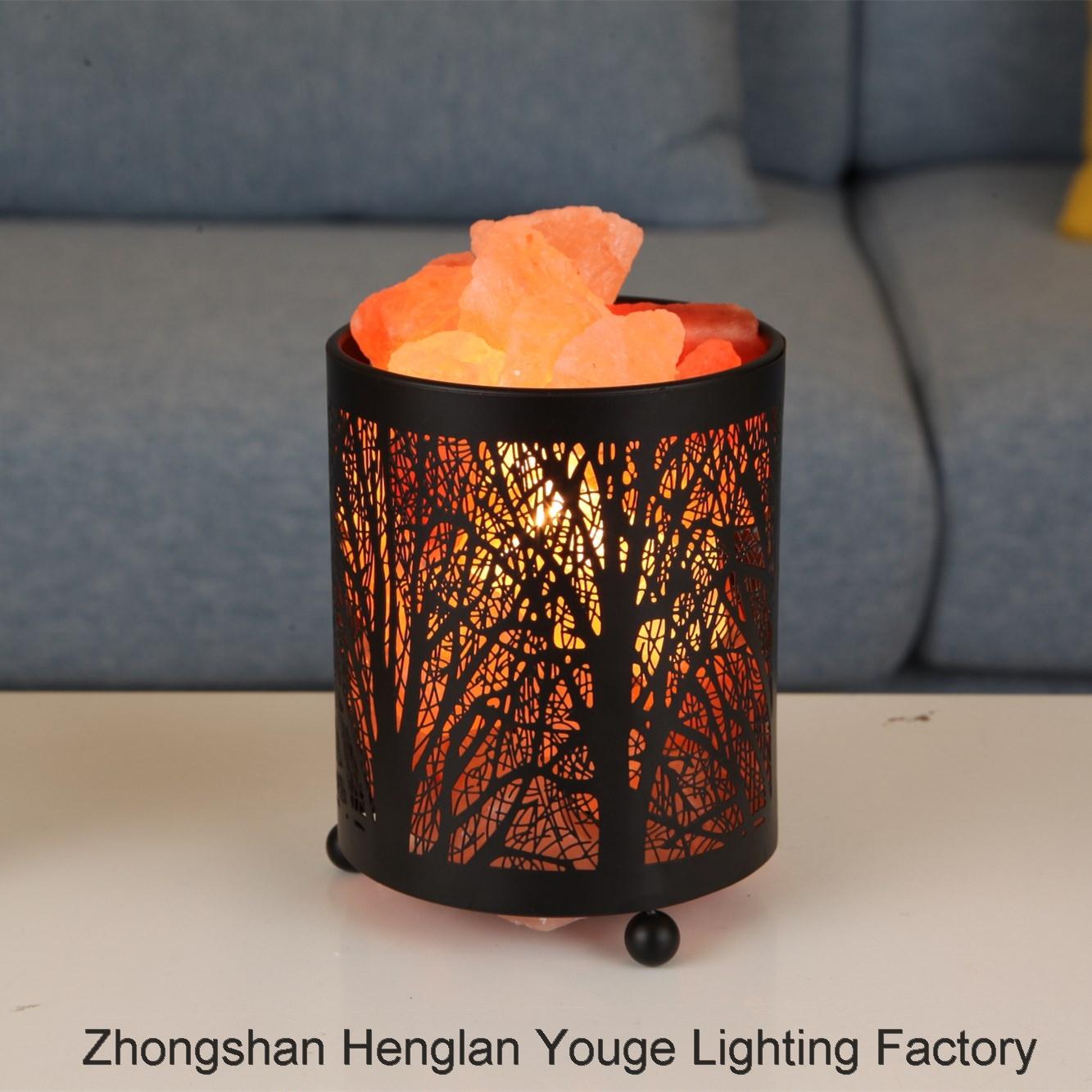 SALT LAMPForest Section Iron Art Table Lamp Health Lamp night light for cross-border e-commerce