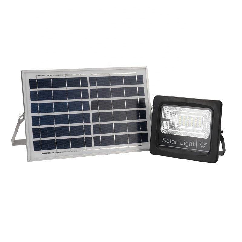 High Quality ABS Material 30W 60W 100W 200W Light-Operated & Telecontrol & Times control IP67 Outdoo