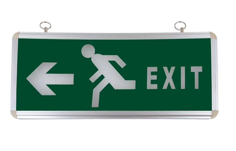 Emergency Exit Sign Light pending mounted