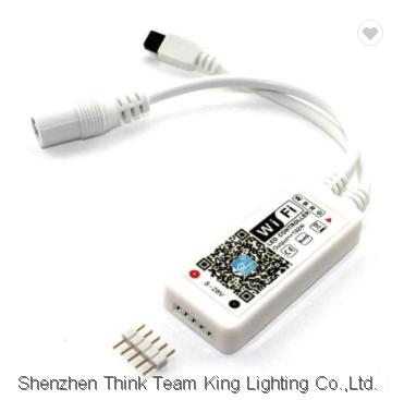 24 key Wifi ir Remote control oem for RGB strip lights
