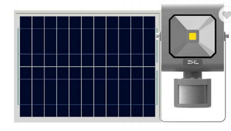 Diamond led COB floodlight with Solar charging