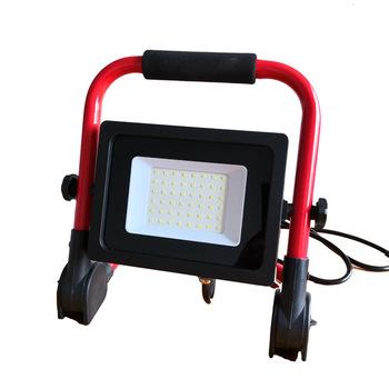 Portable 30W IP65 Waterproof Spotlight Light Hand Work Lamp Led Work Light Flood Light