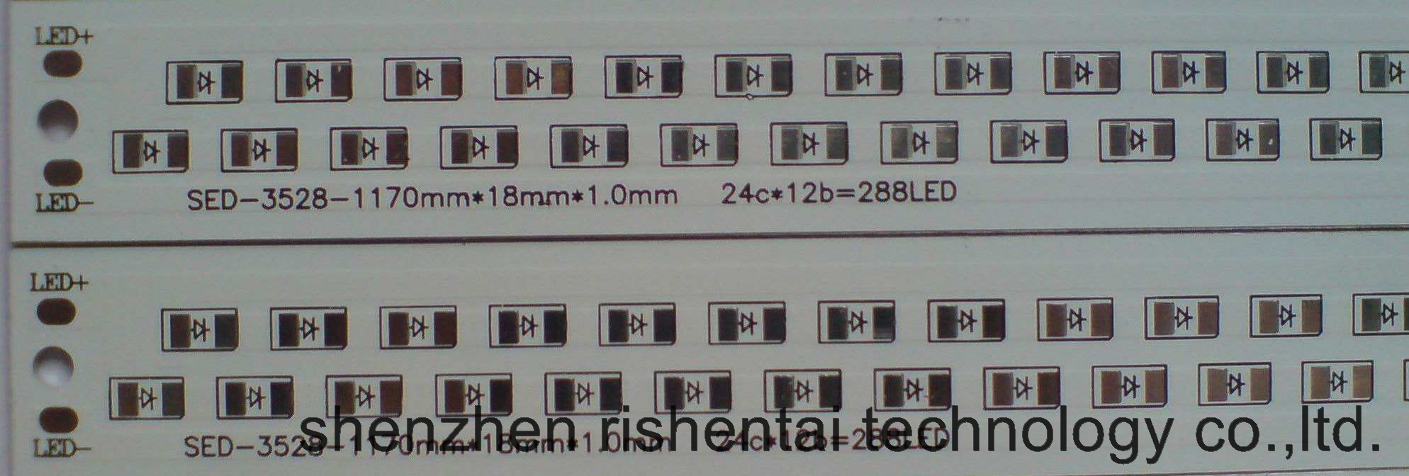 Printed Circuit Board LED PCB Board Aluminum PCB For LED