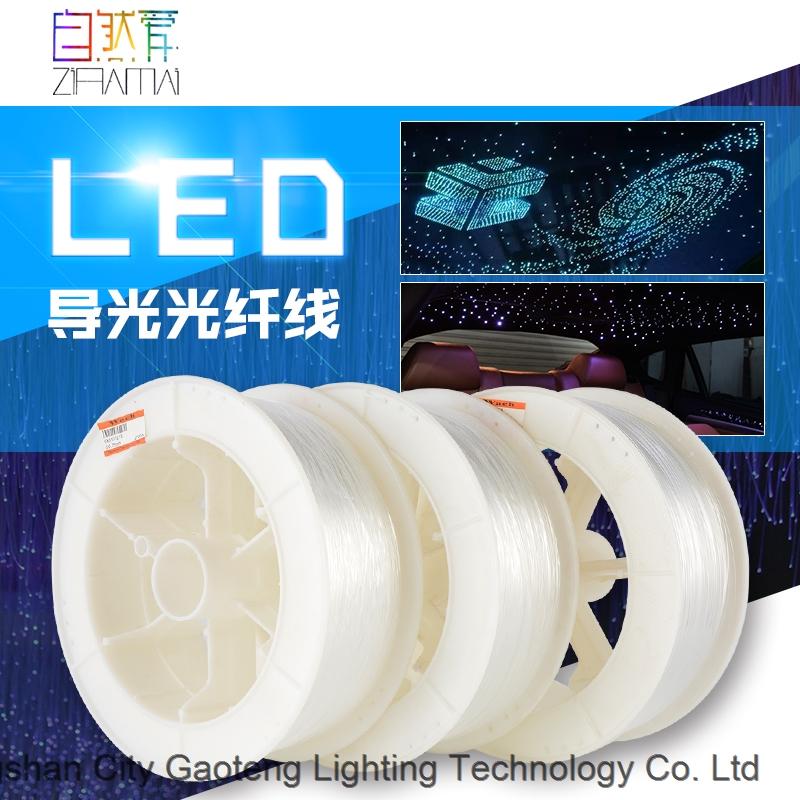 Whole Sale Plastic Optical Fiber for Hotel Fiber Optic Lighting