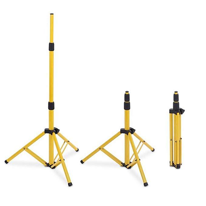 Adjustable 1.6m 2m 3m Work Light Floodlight Single Tripod Stand