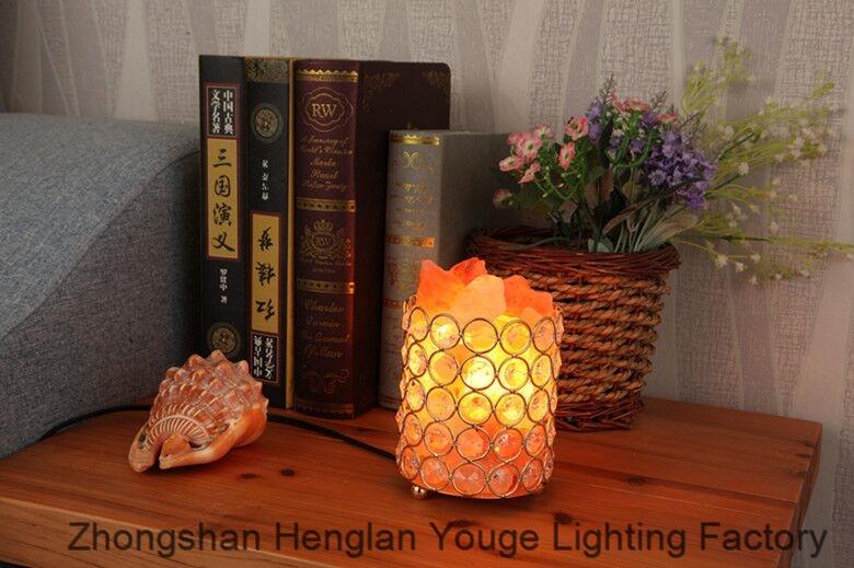 Gift table lamp crystal salt lamp-JH8902