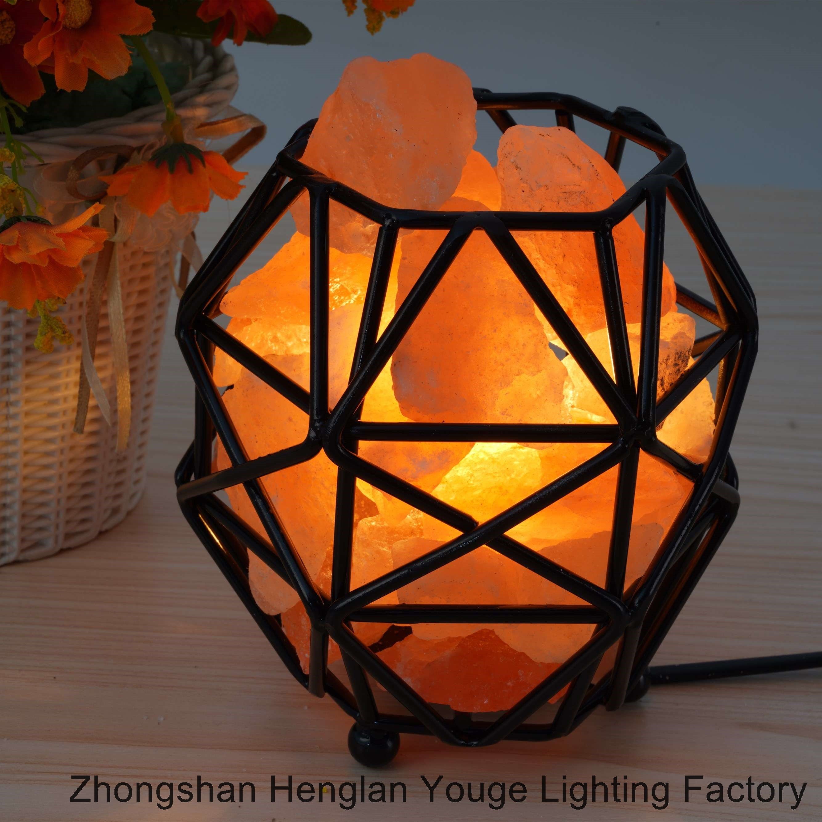 Iron Salt Lamps Household Nightlight-JH0002