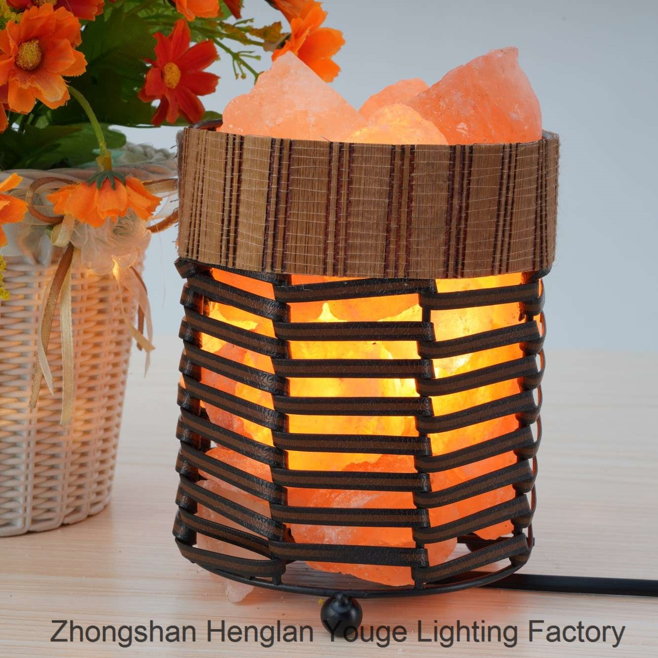 Iron Salt Lamps Household Nightlight-JH0003