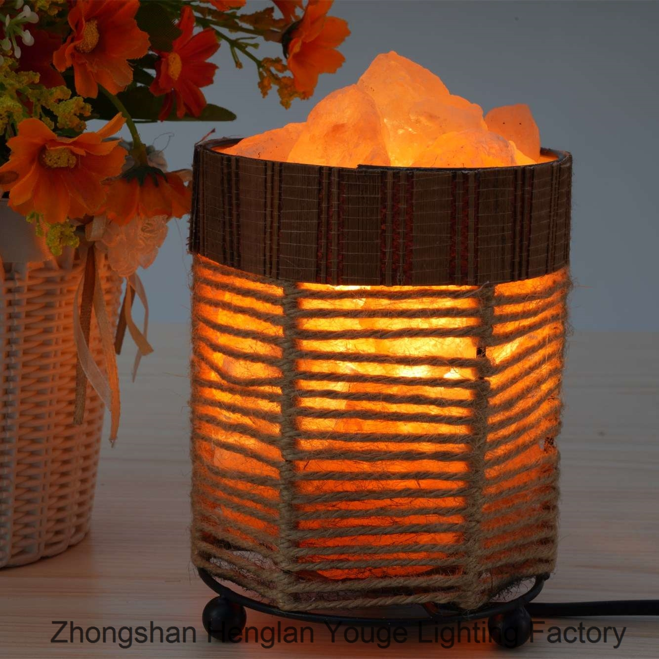Iron Salt Lamps Household Nightlight-JH0004