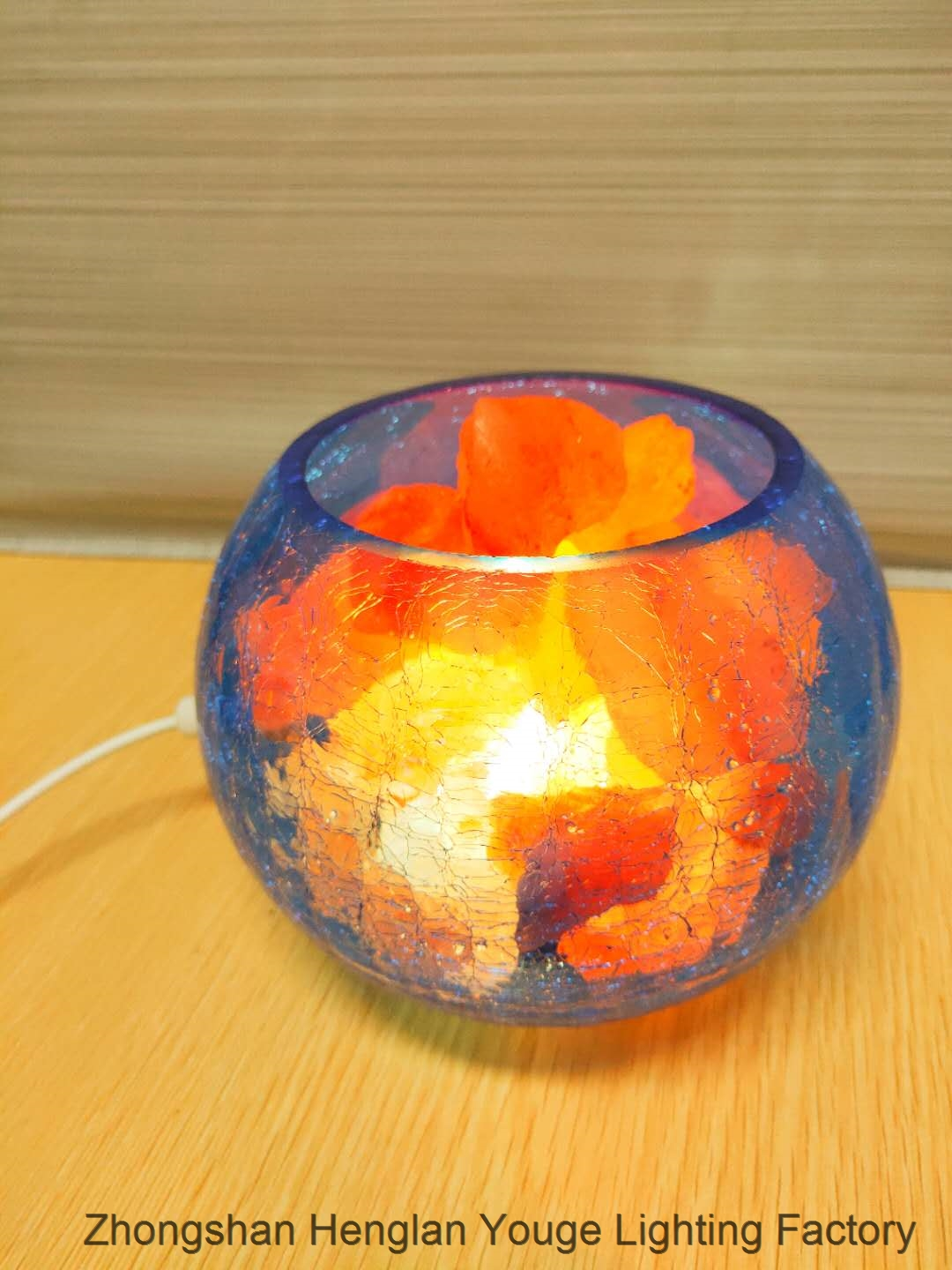 SALT LAMP Usb Dimmable Nightlight