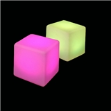 Rechargeable led cube