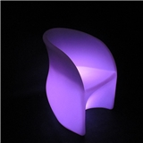 Rechargeable bar led chair